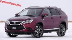 First Photo Of The New BYD Tang SUV For China | CarNewsChina.com - China Auto News
