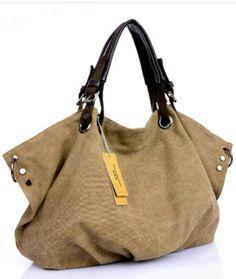 g nstige weibliche handtasche frauen gro e verdicken canvas tote messenger hobo t sk k. Black Bedroom Furniture Sets. Home Design Ideas