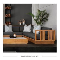 The luxurious Manhattan range is an entertainers dream! Perfect for sharing special moments for years to come. Interior Design, Furniture, Home, Patio Furniture Sets, Hotel Style, Luxury, Outdoor Living, Storage Bench, Home Decor