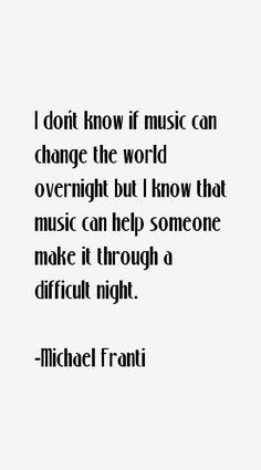 Michael Franti Quote