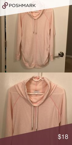 Liz Lange Maternity Pink Sweatshirt: Medium Like-new.  Worn only a few times..purchased towards the last few weeks of my pregnancy.  Super comfortable!!  **Will also be selling a grey one in a size small. Liz Lange for Target Tops Sweatshirts & Hoodies