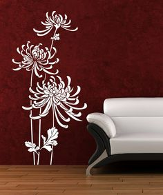 Save Now on this White (also in Black) In Bloom Wall Decal by DecorDesigns on #zulily today!