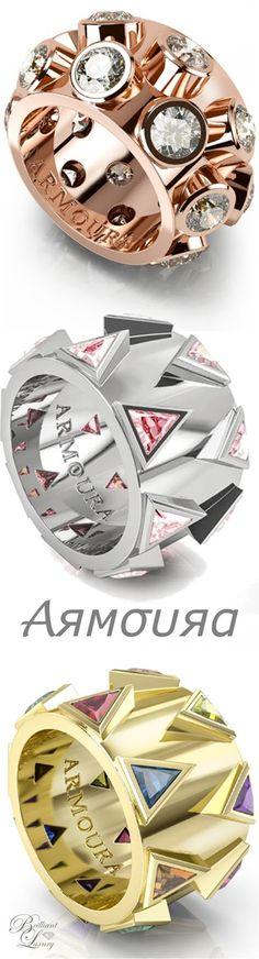 Brilliant Luxury * Armoura 'Degree' Rings
