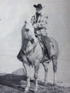 Another photo of Skip On, a 1957 palomino stallion by Skipper W out of Scoot On.