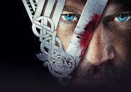 O logo da série Vikings do History Channel