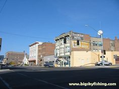 Weird as this may sound but I want to go and explore Butte Montana....   Butte, Montana Pictures : Photograph of Downtown Butte, MT