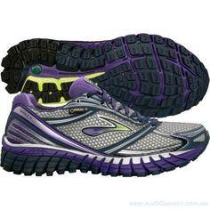 Women's 10 Brooks Ghost 6 GTX Running Shoes Trail Waterproof Purple #Brooks #RunningCrossTraining