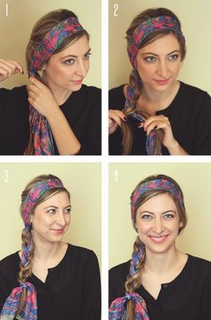 33 Best Headscarf Images On Pinterest Scarf Hairstyles Scarf