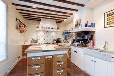 details of kitchen in paris