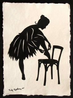 SALE 20% OFF // Coupon code: SALE20 // Being Anna - Hand-Cut Silhouette Papercut