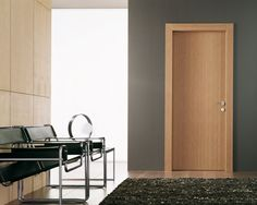 modern bedroom door designs goldenrod wooden interior door designs for homes with gray wall and wooden wall facing modern black chairs with stainless steel framework facing black hairy modern bedroom Interior Door Styles, Modern Interior, Door Casing, Contemporary Doors, Wood Doors Interior, Contemporary Entry Doors, Modern Design, Doors Interior Modern, Doors Interior