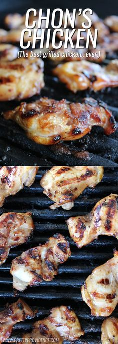 Literally the BEST grilled chicken marinade! I could make this once a week and my husband would be stoked! (Works in the crock-pot or oven too!)