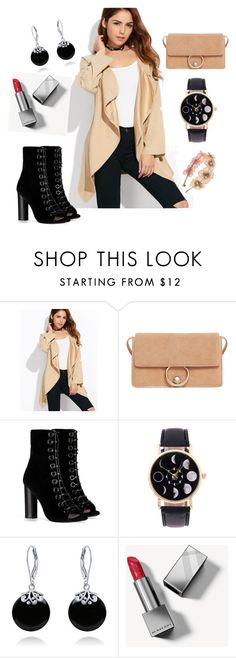 """""""Untitled #97"""" by bosniamode ❤ liked on Polyvore featuring MANGO, Barbara Bui, Bling Jewelry and Burberry"""