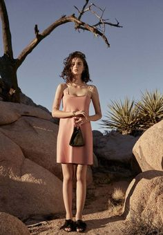 Escape to Joshua Tree With This Super-Stylish Lookbook via @WhoWhatWear