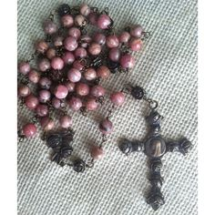 Bouquet of Roses Bronze Rosary