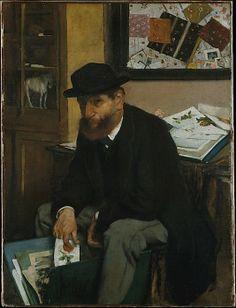 The Collector of Prints 1886  Edgar Degas