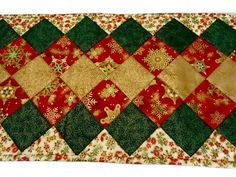 Hey, I found this really awesome Etsy listing at https://www.etsy.com/listing/473732854/christmas-quilted-table-runner-elegant