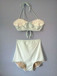 yes. High waisted bikini