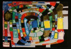 Friedensreich Hundertwasser : Silver Spiral, 1987