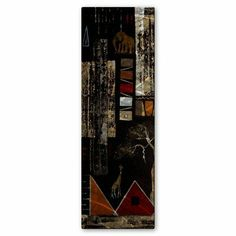 Lovely Africa Untitled Wall Decor By All My Walls. $49.99. Hand Sanded Design. High