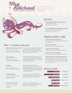 Resume Inspiration: 30 Of The Best Resume Designs