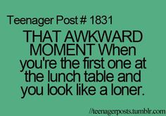 or at thursday lunch...@Chloe wilks, we experience this together. Ohhhhhh the joy of making Ann mad.
