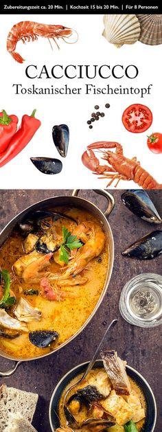 #wein #weinundessen #wine #food #wineandfood #rotwein #weisswein #rezept #cacciucco #toskana #italien #fisch #eintopf #fischeintopf #meeresfruechte #seafood #fish #toscana