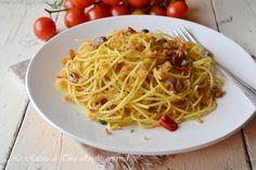 Spaghetti con la mollica,primo veloce