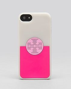 Tory Burch iPhone 5 Case - Viva Silicone Colorblock | Bloomingdales