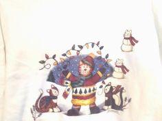 Adult Sweatshirt Holiday Light Strand Tangle Cats Christmas Xmas Hanes Size XL  #Unbranded #Sweatshirt