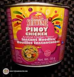 Pinoy Chicken is a Filipino dish and Lucky Me! (Monde Nissin) has turned it into an instant noodle cup! This is The Ramen Rater's 1,528th review.