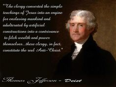 Why has it taken me so long to find Thomas Jefferson's perspective on religion? Glad I found it.