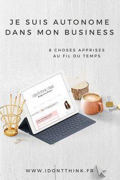 8 choses apprises au fil du temps Micro Entrepreneur, Business Entrepreneur, Business Tips, Business Women, Site Wordpress, Working Mums, Entrepreneur Inspiration, Entrepreneurship, Helpful Hints