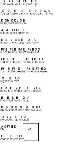 Flute Sheet Music Like Im Gonna Lose You Music Pinterest