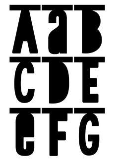 Little Lovely Company Diy  Word Banner Alfabet  Zwart  Zizo