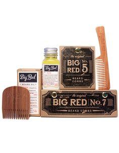 Big Red Beard Kit - 2 Combs 1 Beard Oil by BigRedBeardCombs on Etsy https://www.etsy.com/listing/182224866/big-red-beard-kit-2-combs-1-beard-oil