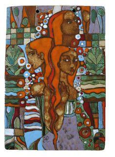 e-keramika, keramika Hadvigová Artwork, Painting, Work Of Art, Auguste Rodin Artwork, Painting Art, Artworks, Paintings, Painted Canvas, Illustrators