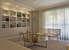 decoracao sala em tons claros #decor #interiordesign