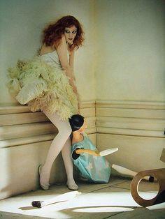 Karen Elson by Tim Walker for Vogue