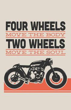 Honda CB550 Cafe Racer - Two Wheels Move The Soul