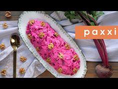 Γιορτινή παντζαροσαλάτα με καρύδια | Συνοδευτικά | Paxxi(C216) - YouTube Grains, Salads, Rice, Fruit, Food, Youtube, Meal, The Fruit, Essen