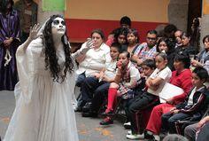Tertulia Literaria sobre la leyenda de la Llorona en la Casa de Cultura Tamaulipas. Foto: Dardané Pérez Romero / Secretaría de Cultura del GDF.