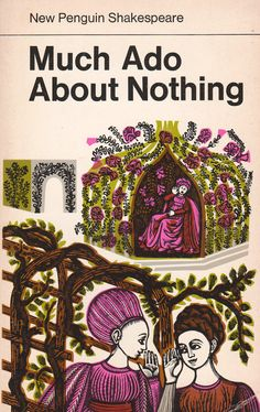 Much Ado About Nothing by William Shakespeare by ElwoodAndEloise, $6.50