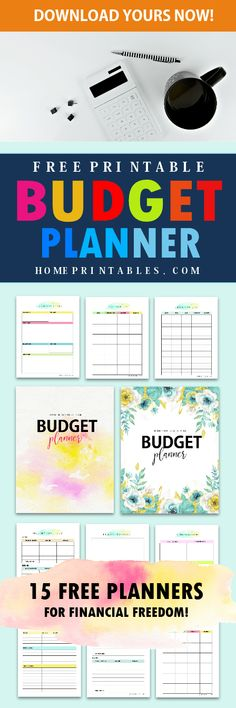Start your journey to financial wellness with this free printable budget binder 2018! #budgetbinder #planner #2018 #printables #budgeting