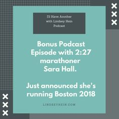 Hear from 2:27 marathoner Sara Hall! She just won the California International Marathon 5 weeks after running a marathon PR and announced a week later that she'll be running Boston 2018. A great interview on running, motherhood and faith. #womensrunning #motherrunner #faith #adoption #bostonmarathon #boston2018