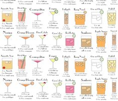 cocktails....its nice to have an electronic version, I still have a paper bartending guide!