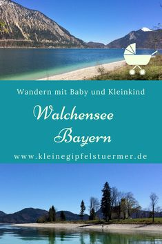 Circular hike on Lake Walchensee - Bavaria- Rundwanderung am Walchensee – Bayern Walking with a baby in a pram: circular hike on Lake Walchensee. walking time, hardly any altitude difference. Refreshments at La Pineta in Kochel possible. Oh The Places You'll Go, Places To Visit, Summer Hiking Outfit, Baby Bike, Baby Supplies, Travel And Leisure, Bavaria, Germany Travel, Hiking Trails