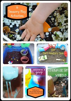 6 sensory play activities
