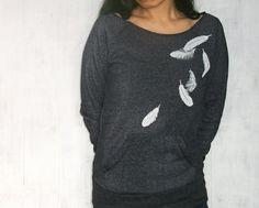 Falling Feathers sweatshirt.
