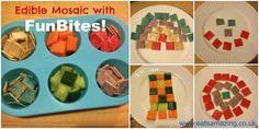 Eats Amazing: Edible mosaic with the FunBites Cube It - enter my giveaway now!